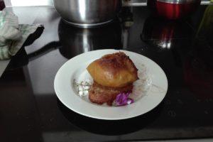 image recette dessert crokmidi du 30 mars pomme au four