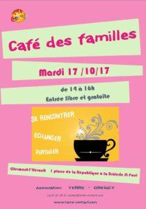 affiche café des familles