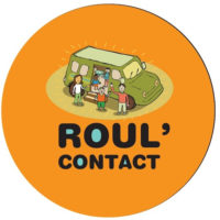 roul'contact rond orange